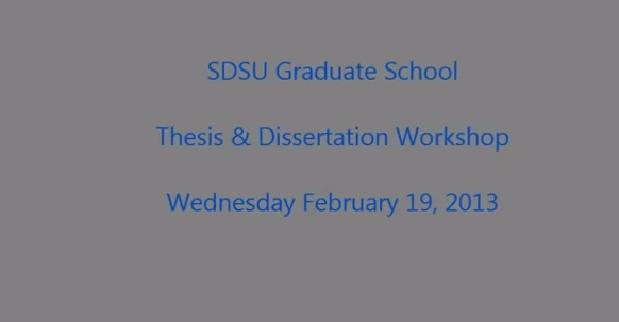 Dissertation to book workshop